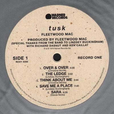 Fleetwood Mac Tusk (Silver Vinyl Album)