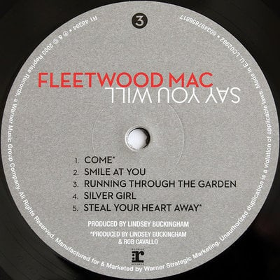 Fleetwood Mac Say You Will