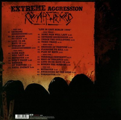 Kreator Extreme Aggression (3 LP)