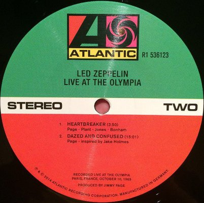 Led Zeppelin Led Zeppelin I (3 LP)