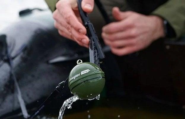 Deeper Fishfinder Chirp+ Winter Bundle