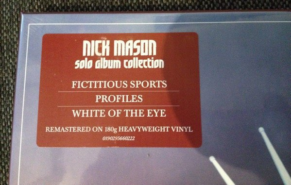 Nick Mason Unattended Luggage (3 LP)