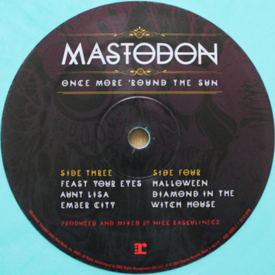 Mastodon Once More 'Round The Sun (Coloured Vinyl)
