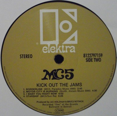 MC5 Kick Out The Jams