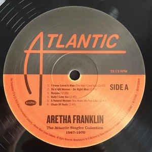 Aretha Franklin The Atlantic Singles Collection 1967 - 1970