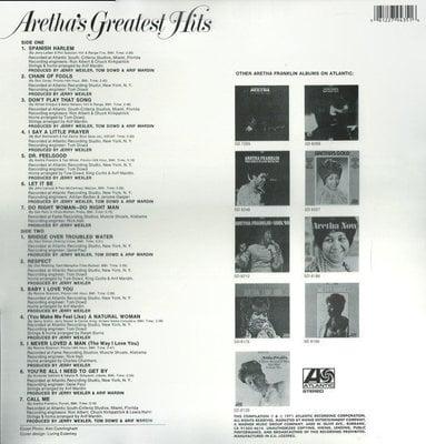 Aretha Franklin Greatest Hits