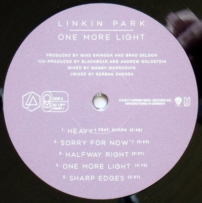 Linkin Park One More Light