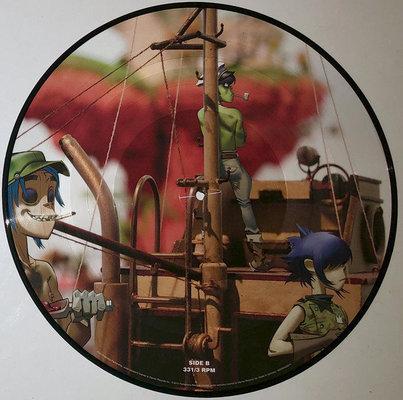Gorillaz Plastic Beach (Picture Vinyl Album)