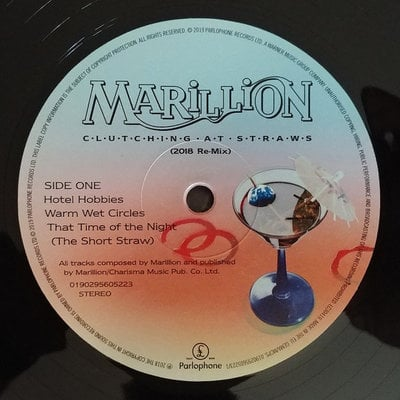 Marillion Clutching At Straws