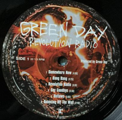 Green Day Revolution Radio