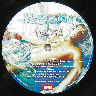 Marillion Fugazi (Limited)