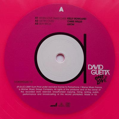 David Guetta One Love (Pink Vinyl)