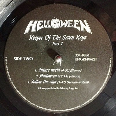 Helloween Keeper Of The Seven Keys, Pt. I