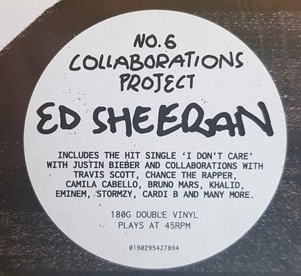 Ed Sheeran No. 6 Collaborations Project (Vinyl LP)