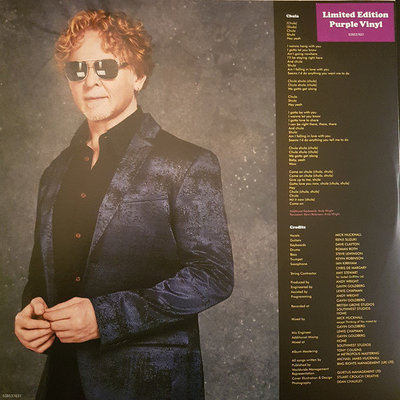 Simply Red Blue Eyed Soul (Purple Lp)