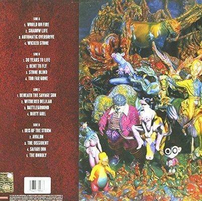 Slash World On Fire  (Red Vinyl) - Limited