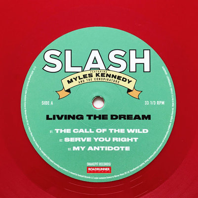 Slash Living The Dream (Red Vinyl)