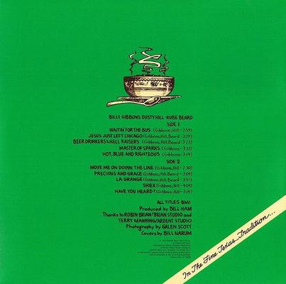 ZZ Top Tres Hombres (Deluxe Vinyl)