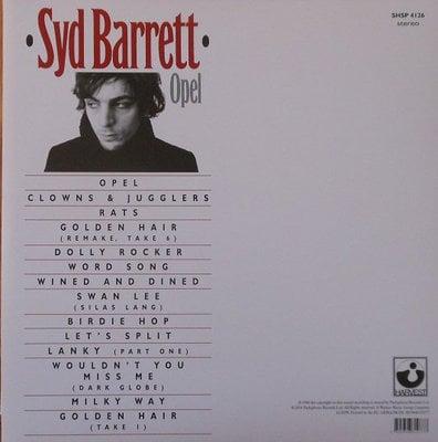 Syd Barrett Opel (Vinyl LP)