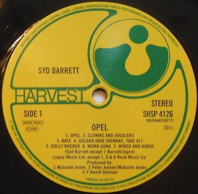 Syd Barrett Opel