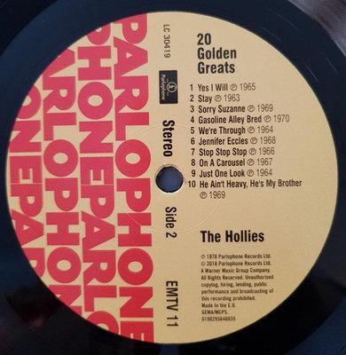 The Hollies 20 Golden Greats