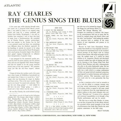 Ray Charles The Genius Sings The Blues (Mono)