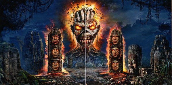 Iron Maiden The Book Of Souls (3 LP)