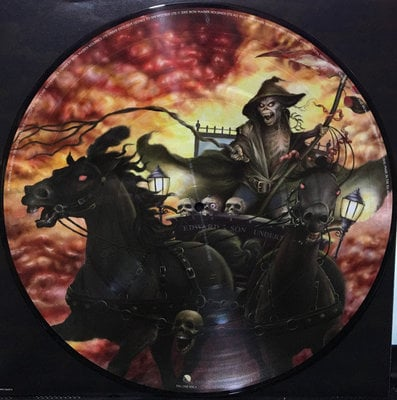 Iron Maiden Death On The Road (Lp Live)