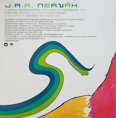 J.A.R. LP Box White (8 LP)