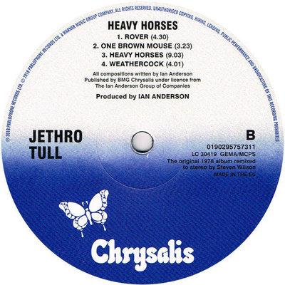 Jethro Tull Heavy Horses