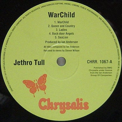 Jethro Tull Warchild - 40Th Anniversary Theatre Edition