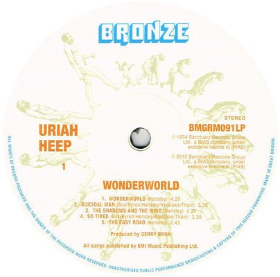 Uriah Heep Wonderworld