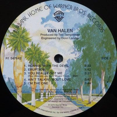 Van Halen Van Halen