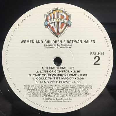 Van Halen Women And Children First (Remastered)