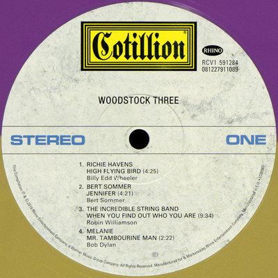 Various Artists Woodstock III (Summer Of 69 Campaign) (3 LP)