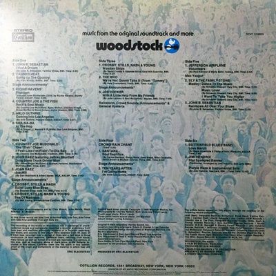 Various Artists Woodstock I (Summer Of 69 Campaign) (3 LP)
