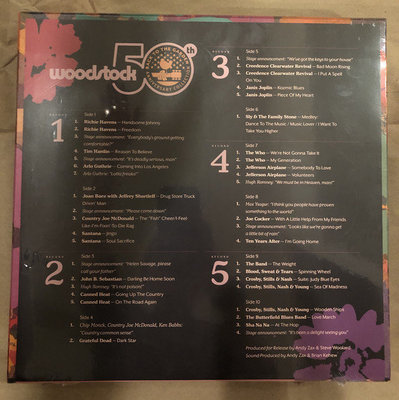 Various Artists Woodstock, Back To The Garden (Woodstock Campaign) (5 LP)