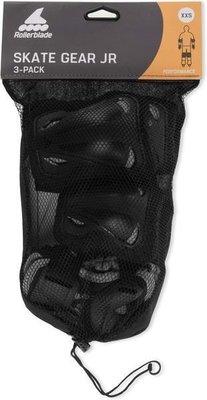 Rollerblade Skate Gear Junior 3 Pack Black XS