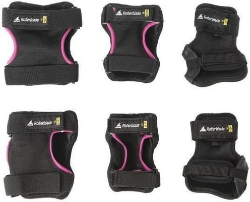 Rollerblade Skate Gear W 3 Pack Black/Raspberry S