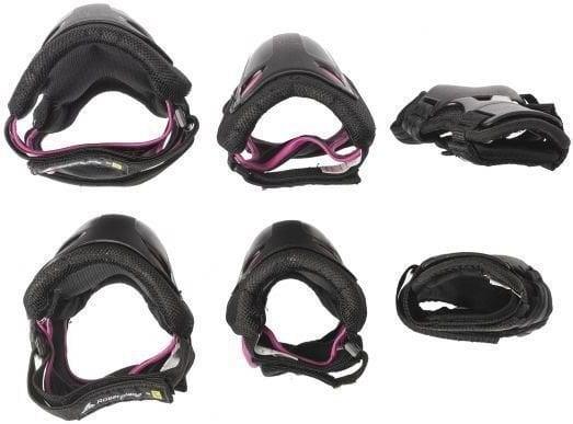 Rollerblade Skate Gear W 3 Pack Black/Raspberry L