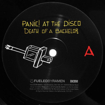 Panic! At The Disco Death Of The Bachelor