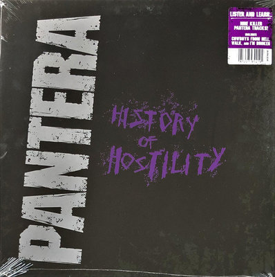Pantera History Of Hostility