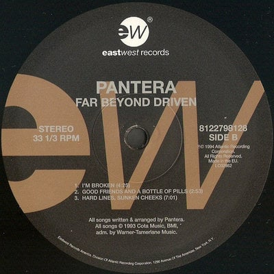 Pantera Far Beyond Driven - 20Th Anniversary