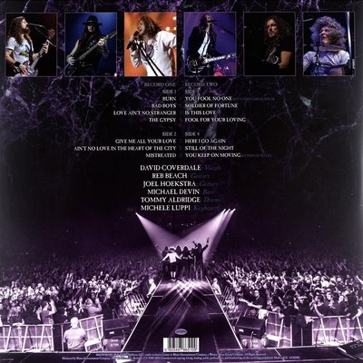 Whitesnake The Purple Tour