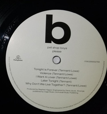Pet Shop Boys Please (2018 Remastered Version)