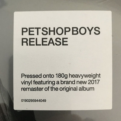 Pet Shop Boys Release Further Listening: 2001 - 2004