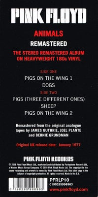 Pink Floyd Animals (2011 Remaster)