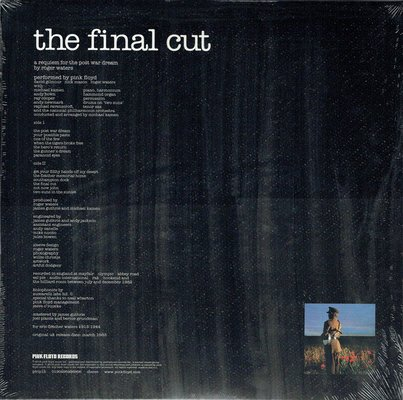 Pink Floyd Final Cut (2011 Remastered)