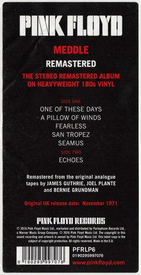 Pink Floyd Meddle (2011 Remastered)