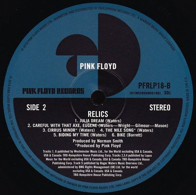 Pink Floyd Relics